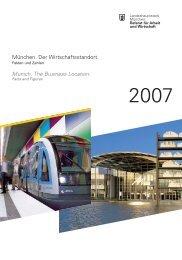 Munich. The Business Location. - Referat für Arbeit und Wirtschaft