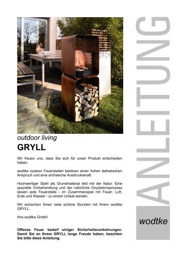 outdoor Living GRYLL - Wodtke
