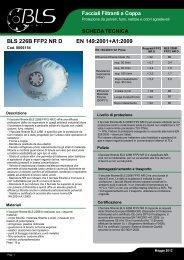 BLS 226B FFP2 NR D EN 149:2001+A1:2009