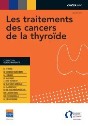 Les traitements des cancers de la thyroïde