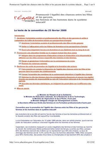 La convention du 25 février 2000 - Académie de Corse
