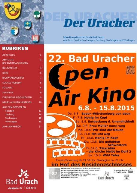 Der Uracher KW 32-2015