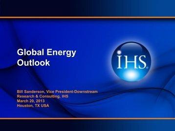 Global Energy Outlook