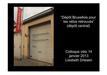 dépôt central - Bruxelles Mobilité