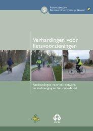 Verhardingen voor fietsvoorzieningen