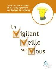 Vigilant - Trousse SOS Abus
