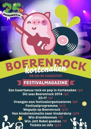 Festivalmagazine 2015