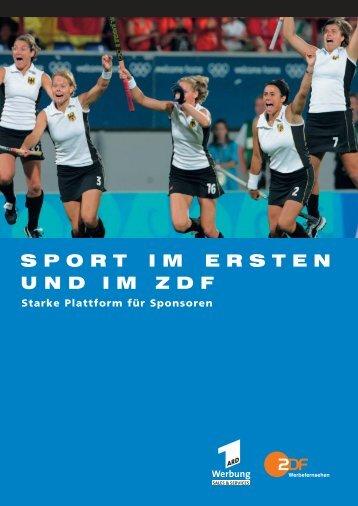 Starker Auftritt für Sponsoren - ZDF Werbefernsehen