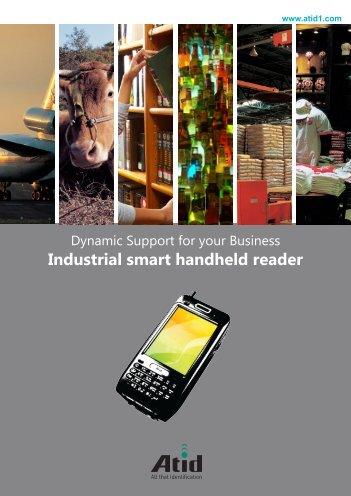 Industrial smart handheld reader