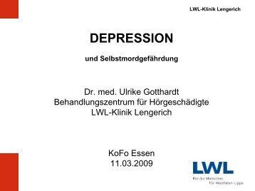 DEPRESSION - Zeichen setzen!