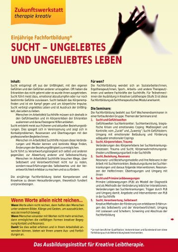 UNGELEBTES UND UNGELIEBTES LEBEN - Zukunftswerkstatt ...