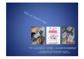 """Scuola Primaria """"S Chiara"""" – Ponte Lambro – Classe Terza"""