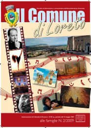 alle famiglie N. 2/2009 - Comune di Loreto