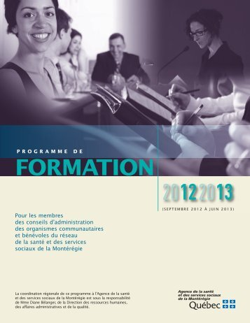 FORMATION 20122013
