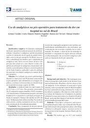Revista - 1 - 2008.pmd - Associação Catarinense de Medicina