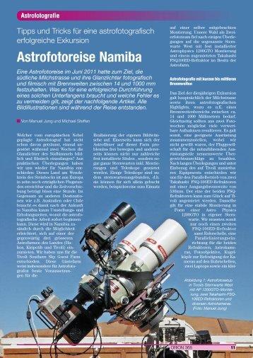 Astrofotografie - Dobson-Teleskope im Selbstbau von Manuel Jung
