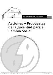 Acciones y Propuestas de la Juventud para el Cambio Social