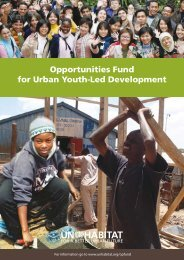 Opportunities Fund for Urban Youth-Led Development