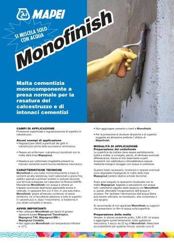 Monofinish - Pagani Srl
