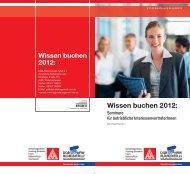 Wissen buchen 2012 - IG Metall