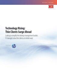 Technology Rising: Thin Clients Surge Ahead