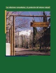 Las relaciones comunitarias y la protección del entorno natural
