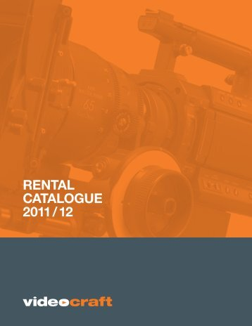 Rental Catalogue PDF - Videocraft