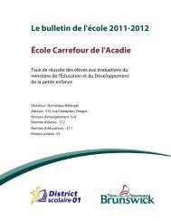 École Carrefour de l'Acadie