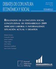 DEBATES DE COYUNTURA ECONÓMICA Y SOCIAL