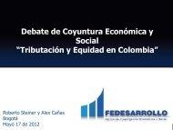 """Social """"Tributación y Equidad en Colombia"""""""