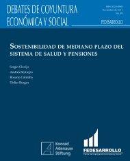 DEBATES DE COYUNTURA ECONÓMICA Y SOCIAL - Fedesarrollo