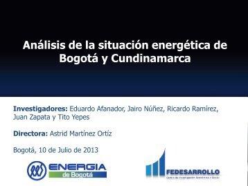 Presentación 10 de julio, 2013 - Fedesarrollo