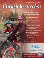 SPÉCIAL en santé et en mouvement! - District scolaire francophone ...
