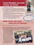 SPÉCIAL en santé et en mouvement! - District scolaire francophone ... - Page 7