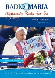 Radio Maria Schweiz - September 2015