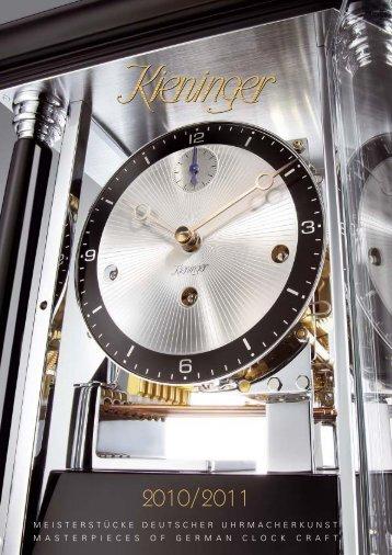 Uhrwerke Movements - Kieninger Uhrenshop