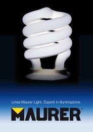 Linea Maurer Light Esperti in illuminazione