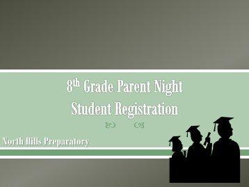 Senior Parent Night 2011-12 - Uplift Hampton Prep