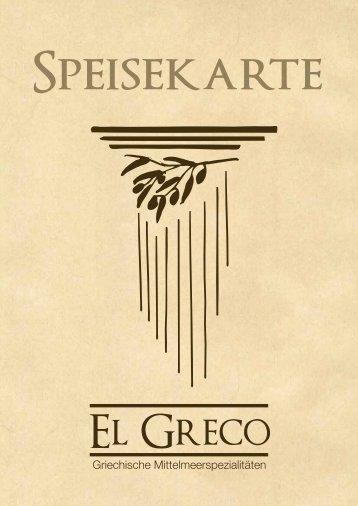 Fleischgerichte vom Rind - El Greco