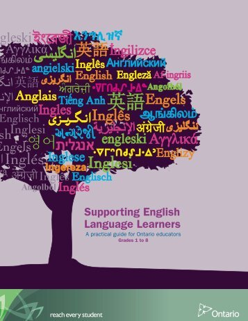 Supporting English Language Learners in Grades 1 to 8 - Ontario