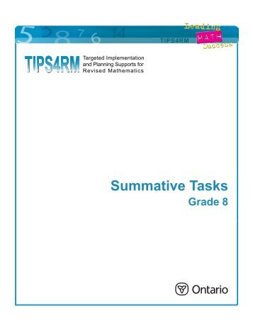 Hosting a Charity Event Grade 8 – Summative Task