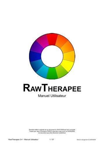L'interface utilisateur - RawTherapee