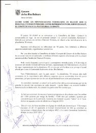 Acuerdo Baleares