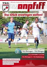 TSV Eltingen - TSG Öhringen