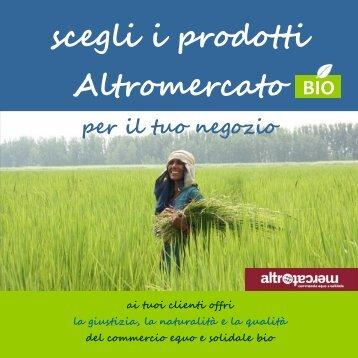 scegli i prodotti Altromercato