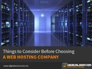 Web Hosting Company in Mexico – Tips to Choose!