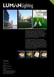 2012 New products LEDPAR - Luman Lighting