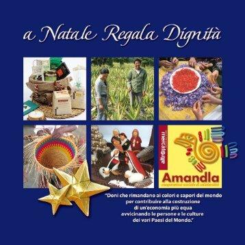 idee regalo del commercio equo e solidale - Amandla