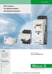 PKZ 2 System - Klockner Moeller Parts
