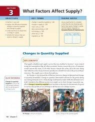 What Factors Affect Supply? - Supportforstudentsuccess.org